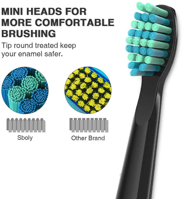 sboly 507 Sonic Electric Toothbrush