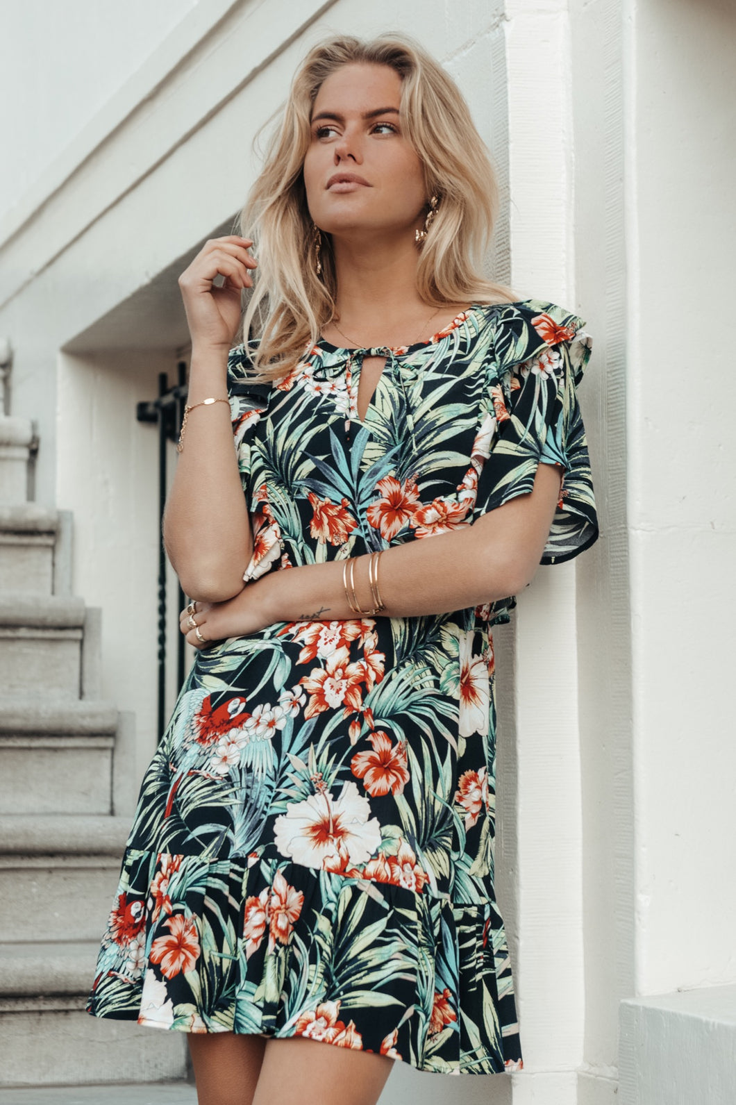 Viva Tropical Mini Dress