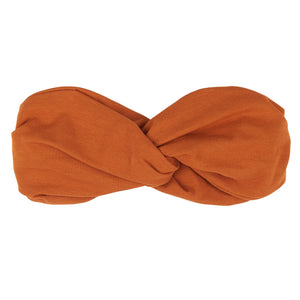 Twister headband rust