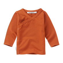 Afbeelding in Gallery-weergave laden, Baby Wrap top Dark Ginger