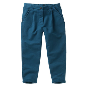 Cropped Chino Teal Blue