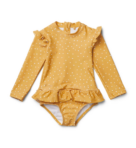 Sille Swimsuit Confetti mellow yellow