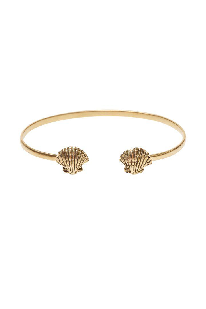 Bangle Shell - Brass