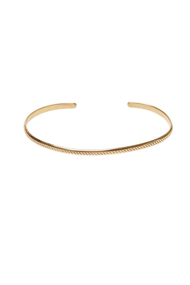 Bangle Stripes - Brass