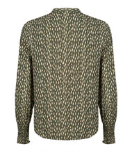 Afbeelding in Gallery-weergave laden, Blouse indy green print