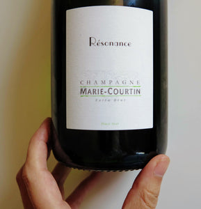 Champagne Cuvée Resonance extra brut