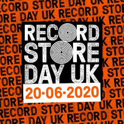 Record Store Day 2020. Saturday 20th June. *New Date