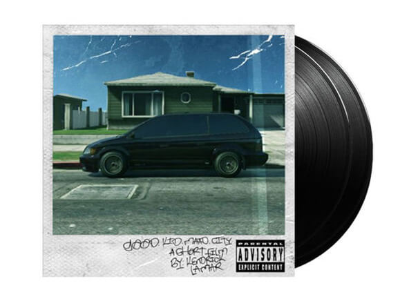 Kendrick Lamar - Good Kid, m.A.A.d City: Vinyl LP