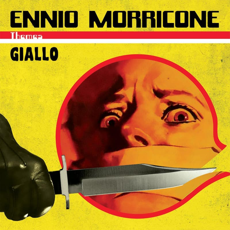 Ennio Morricone – Giallo: Limited Translucent Red Vinyl 2 LP