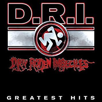 D.R.I. - Greatest Hits: Red Vinyl LP