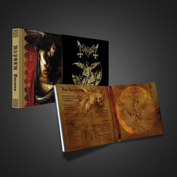 Mayhem - Daemon : Album on Various formats + Entry to Signing *Pre-Order
