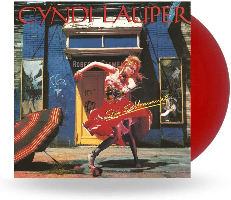 Cyndi Lauper - She's So Unusual: Red Vinyl LP