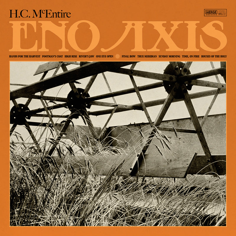 "H.C.McEntire - Eno Axis: Exclusive iridescent Blue Vinyl with 12"" Screen Print *DINKED EXCLUSIVE 057"