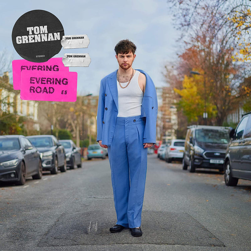 Tom Grennan - Evering Road: Various Formats + Ticket Bundle SUNDAY EVENING 8pm (Launch Show in Bedford at Bedford Esquires)