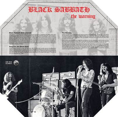 Black Sabbath - The Warning: Blue Marble Vinyl LP