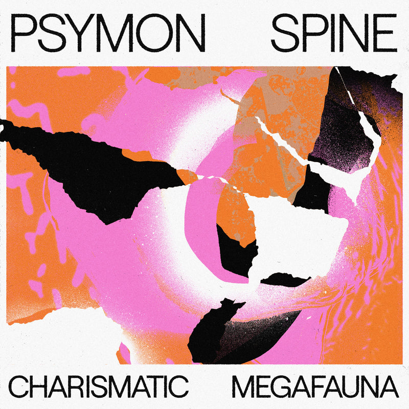 Psymon Spine - Charismatic Megafauna : Limited Transparent Vinyl LP With Orange Flexi Single *DINKED EXCLUSIVE 083