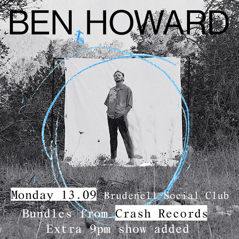 Ben Howard - Collections From The Whiteout Various Formats + Ticket Bundle EXTRA 9pm Show (Album Launch gig at Brudenell Social Club) *Pre Order