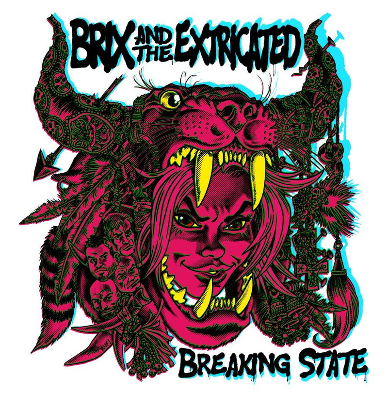 Brix & The Extricated – Breaking State: Pink/Purple Vinyl LP