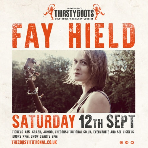 Fay Hield  (Rescheduled Date TBC) @ The Constitutional, Farsley