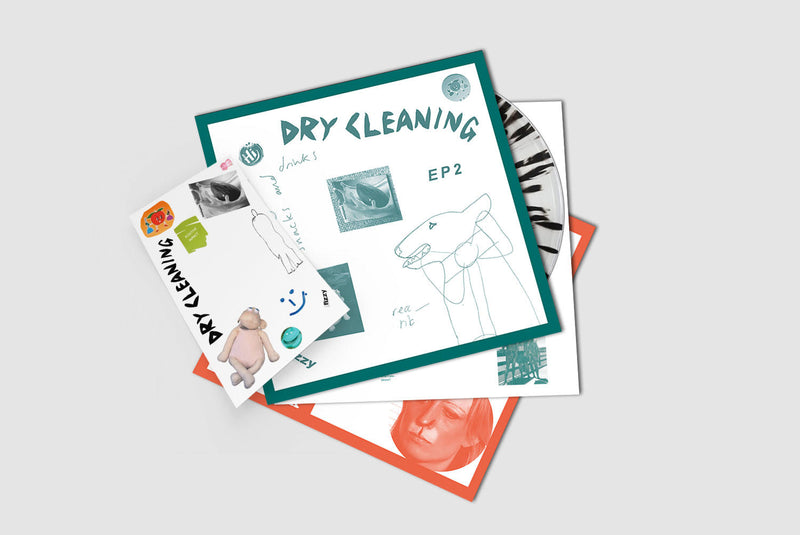 Dry Cleaning - Sweet Princess Boundary Road Snacks and Drinks : Limited and Numbered Black Splatter Vinyl LP *DINKED EXCLUSIVE 030