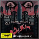 Electric Dragon - The Night School : Crash Exclusive Red Smoke Vinyl LP