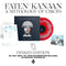 Faten Kanaan - A Mythology of Circles : Exclusive Red and White Inkspot Vinyl LP with bespoke Moon Phase Calendar *DINKED EXCLUSIVE 068* Pre-Order