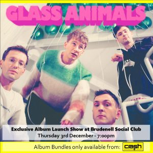 Glass Animals - Dreamland: Various Formats + Ticket Bundle (Album Launch gig at Brudenell Social Club)