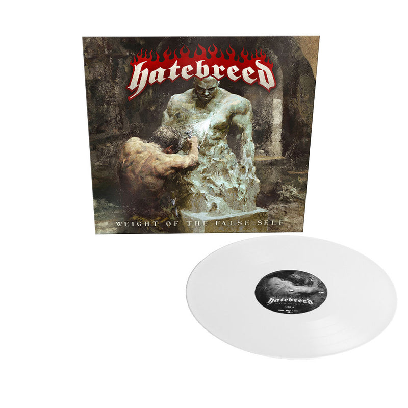 Hatebreed - Weight Of The False Self: Limited Edition Gatefold White Vinyl LP