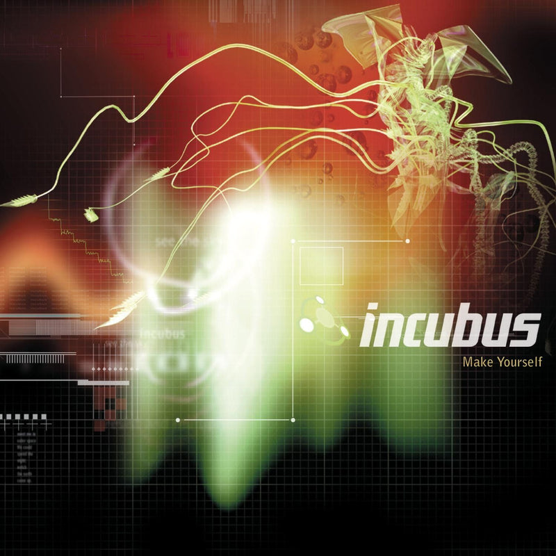 Incubus - Make Yourself: Limited Flaming Vinyl 2LP