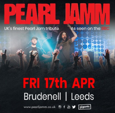 Pearl Jamm (waiting on a new date) @ Brudenell Social Club