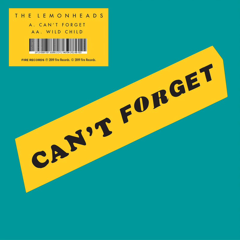 "Lemonheads (The) - Can't Forget - Wild Child 7"" Limited RSD2019"