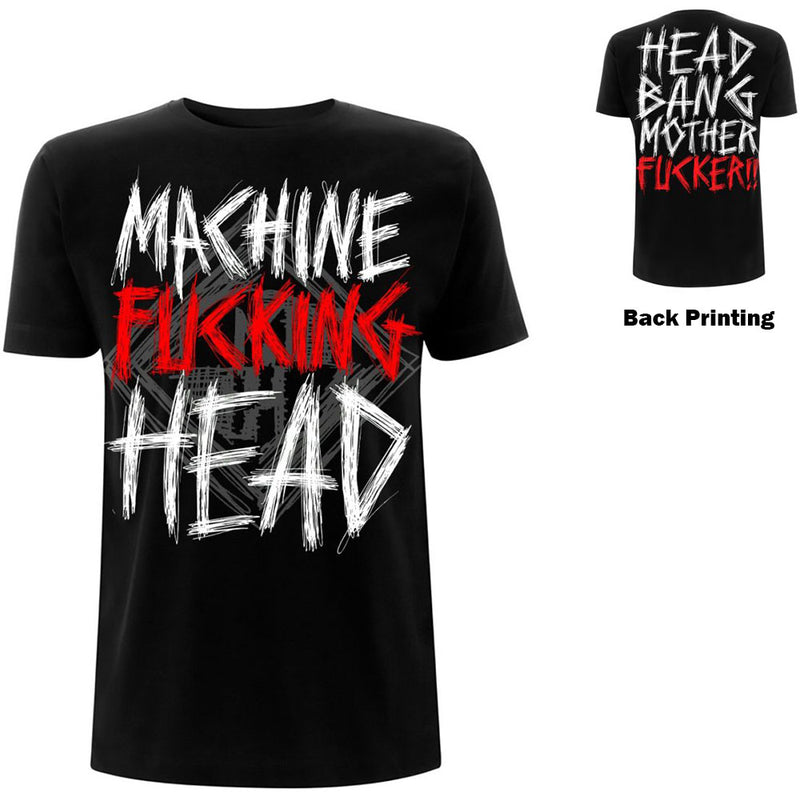 Machine Head Band Your Head Unisex T-Shirt