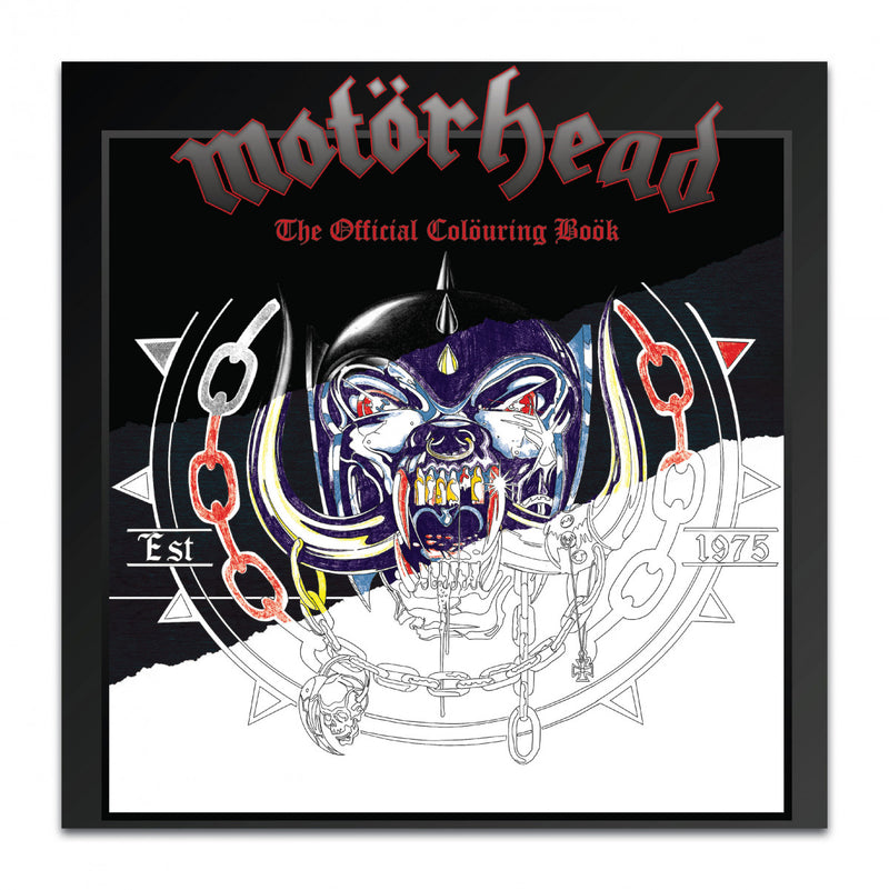 Motorhead - The Official Colouring Book