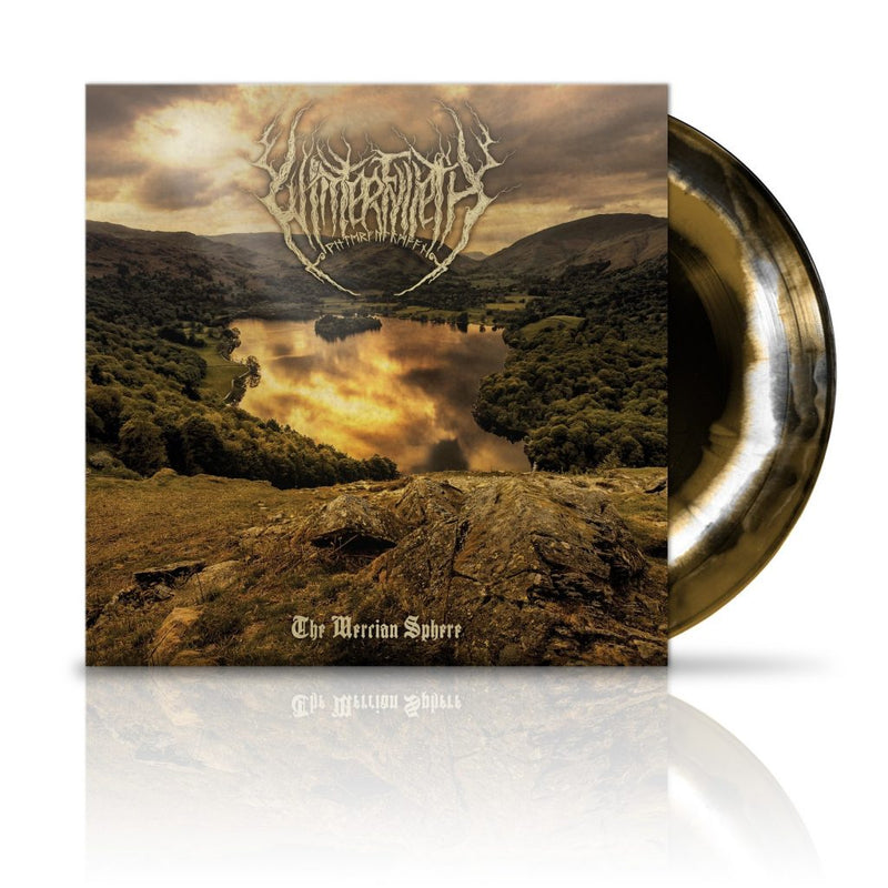 Winterfylleth - The Mercian Sphere: 10th Anniversary Gold/White/Black Swirl Limited 2LP