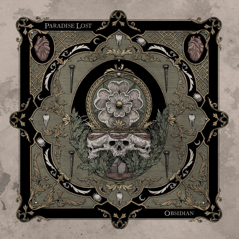 Paradise Lost - Obsidian: Various Formats + Ticket Bundle (Album Launch gig at The Warehouse)