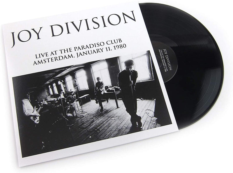 Joy Division - Live At The Paradiso Club, Amsterdam: Vinyl LP