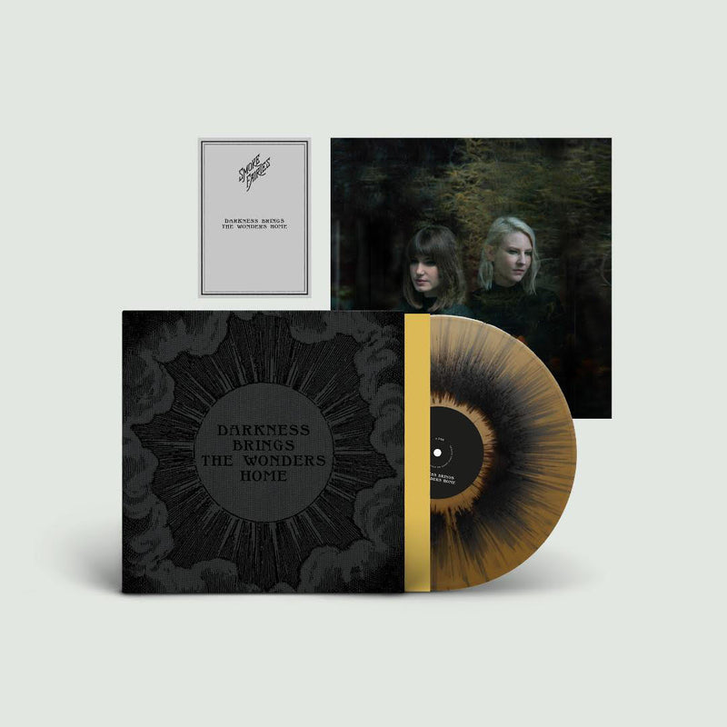 Smoke Fairies - Darkness Brings The Wonders Home : Limited Gold and Black Splatter Vinyl LP in Exclusive Sleeve and Extra Signed Print *DINKED EXCLUSIVE 032
