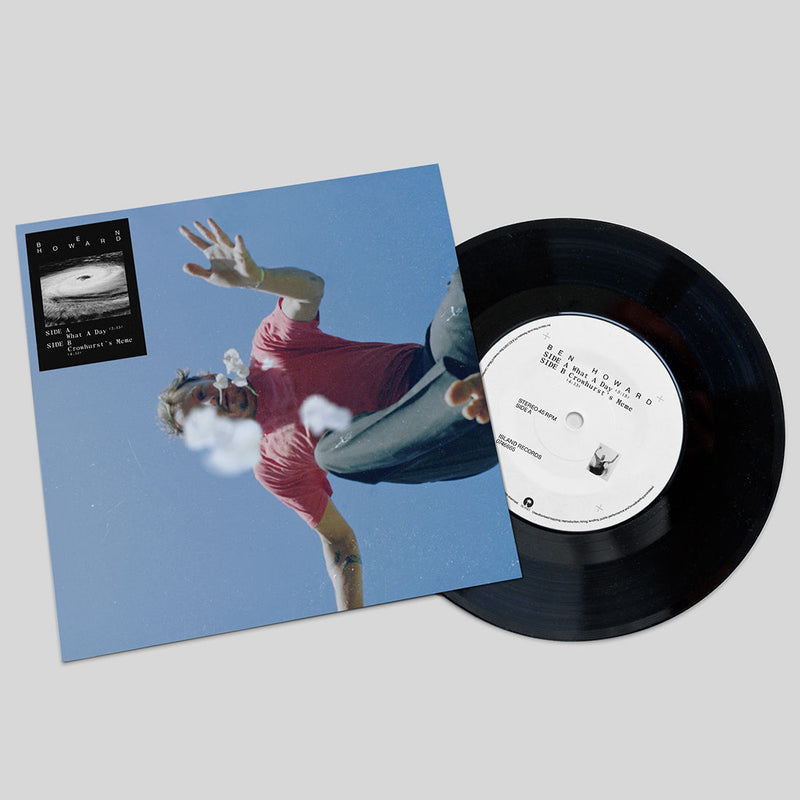 "Ben Howard - What A Day / Crowhurst's Meme: Limited Edition 7"" Single"