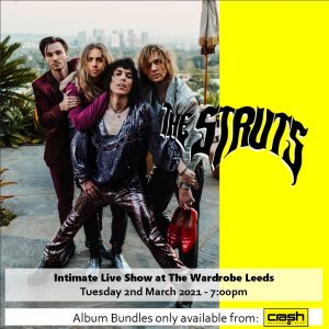 The Struts - Strange Days: Various Formats + The Wardrobe Live Show Bundles