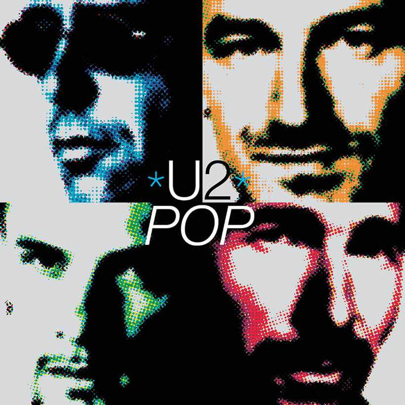 U2 - Pop: Limited Orange Vinyl 2LP