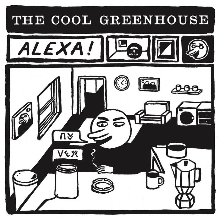 "Cool Greenhouse (The) - Alexa!: Red 7"" Single"