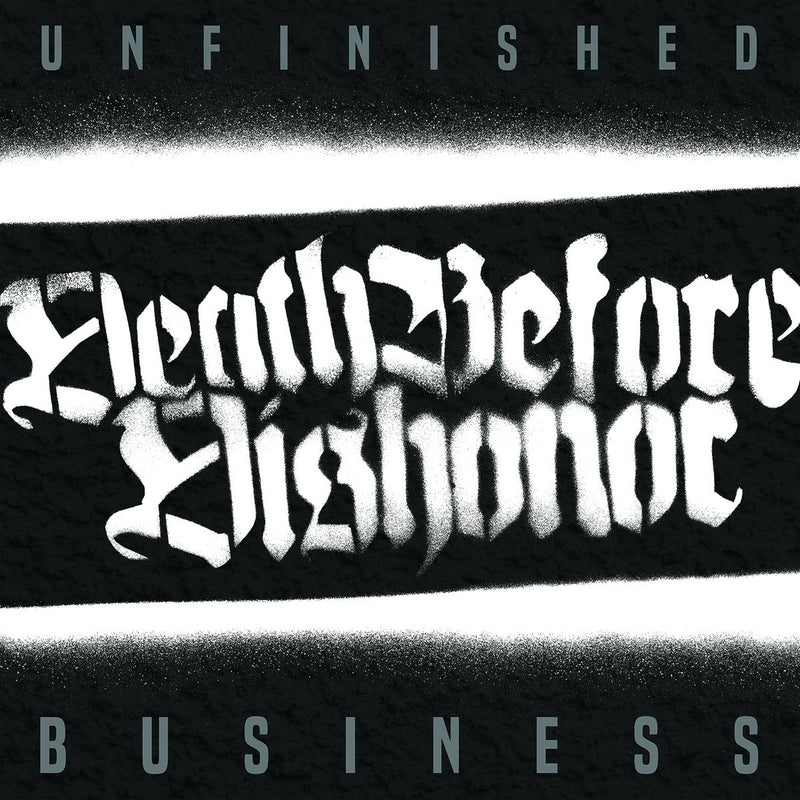 Death Before Dishonor - Unfinished Business: White Vinyl LP