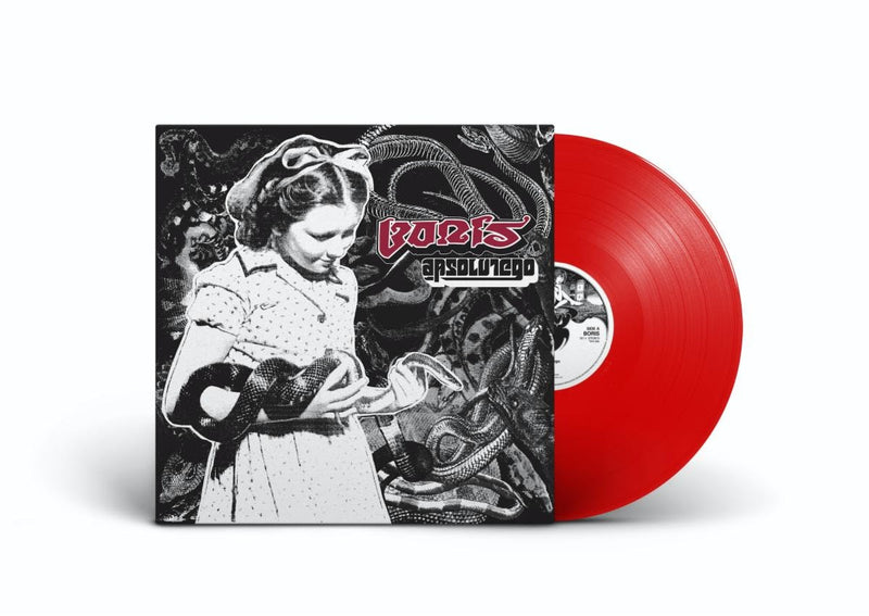 Boris - Absolutego: Limited Red Vinyl LP Reissue