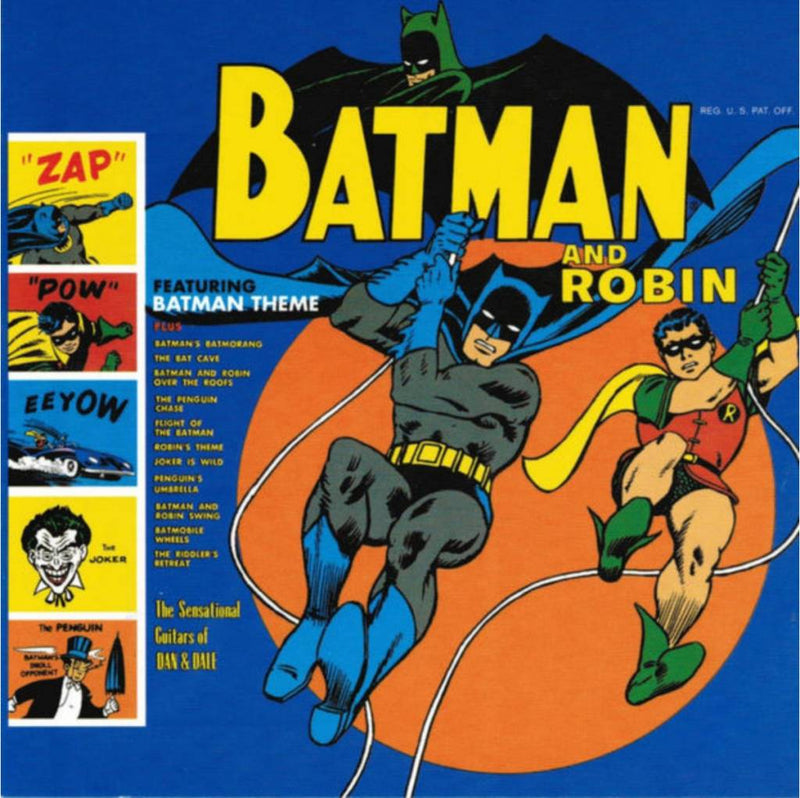 Sun Ra/Blues Project: Batman & Robin: 180g Vinyl LP