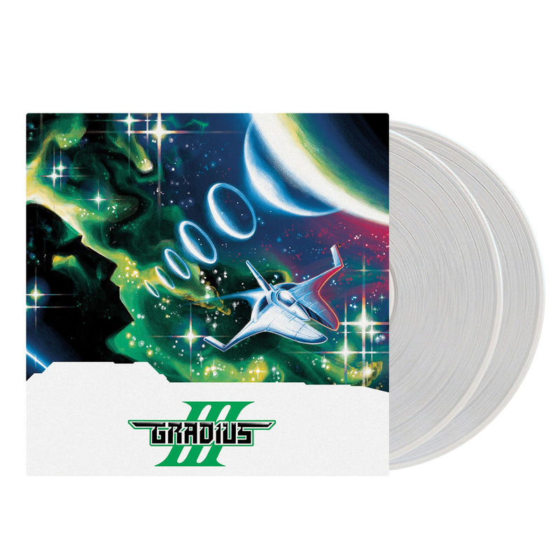 Gradius III - Original SNES/Arcade Game Soundtrack: Double Clear LP