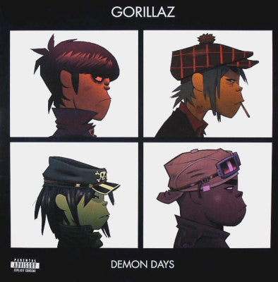 Gorillaz - Demon Days: Double Vinyl LP