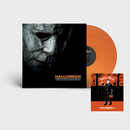 Halloween Soundtrack 2018 - John Carpenter 'Pumpkin Orange' Vinyl LP + Print *DINKED EXCLUSIVE 002