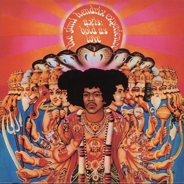 Jimi Hendrix - Axis: Bold As Love: Vinyl LP