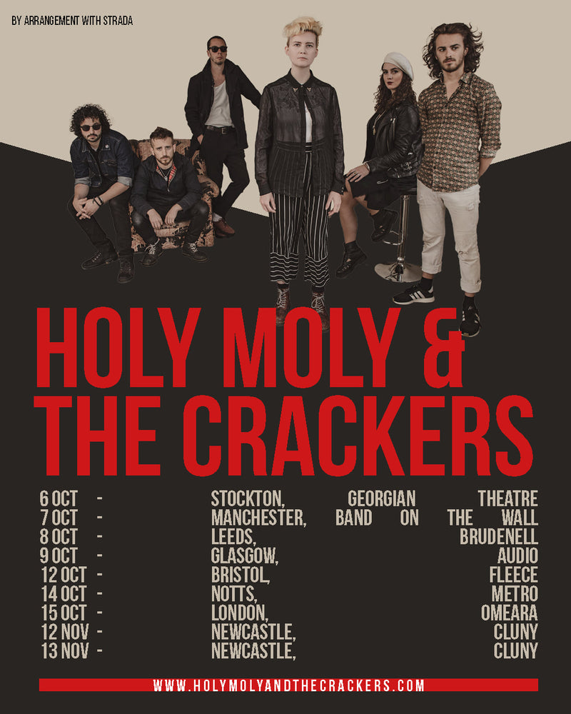 Holy Moly & The Crackers 08/10/21 @ Brudenell Social Club
