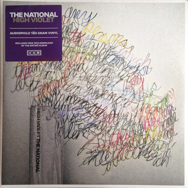 National (The)- High Violet: Vinyl 2LP